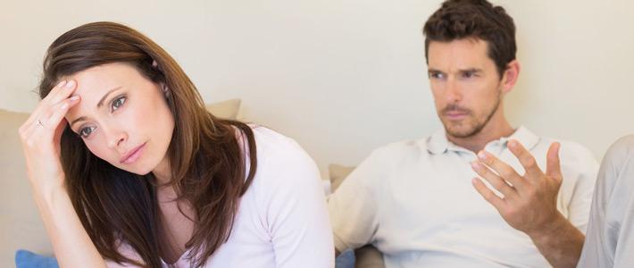 3 najpogostejše težave partnerske zveze